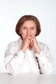 Free Beautiful Elderly Woman Stock Photography - 19618362