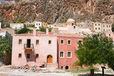 Free View Of Ancient Monemvasia, Greece Royalty Free Stock Images - 19618409