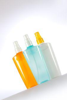 Free Cosmetic Spray Royalty Free Stock Image - 19618846