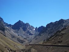 Andes Mountains Royalty Free Stock Images