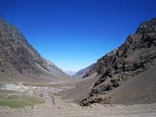 Free Andes Mountains Stock Photography - 19619142