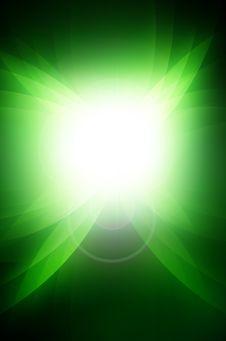 Abstract Dark Green Stock Image