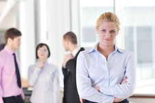 Free Young Business Woman On Meeting Royalty Free Stock Photo - 19619925