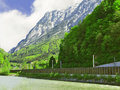 Free Railway In The Alps Stock Photography - 19626582
