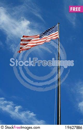 Free USA Flag Royalty Free Stock Image - 19627886
