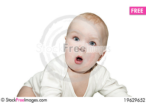 Free Surprised Kid. Stock Photography - 19629652