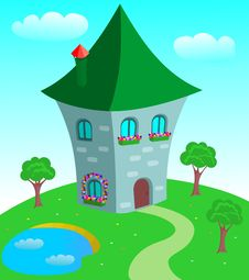 Free Fairy-tale House Stock Photography - 19620972