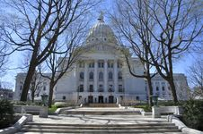 Madison State Capitol Stock Photography