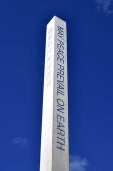Free Peace Pole Stock Photo - 19621120