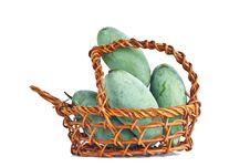 Mangoes In The Basket Stock Images
