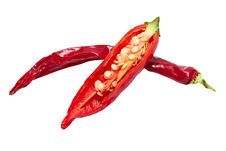 Free Red Chili Peppers Stock Images - 19622674