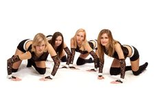 Dance Group Royalty Free Stock Photography