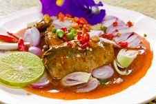 Free Thai Cuisine , Mackerel Fish Royalty Free Stock Photo - 19623505