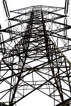 Free High-voltage Tower Royalty Free Stock Photography - 19623897
