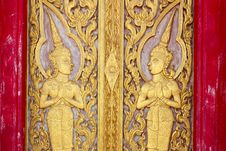 Free Door Carving Royalty Free Stock Photos - 19623948