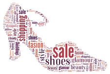 Free Wordcloud: Silhouette Of Shoes Stock Photo - 19624010