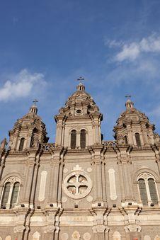 Free St. Joseph S Church, Beijing, China, Wangfujing Royalty Free Stock Photos - 19624078
