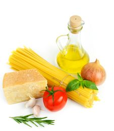 Ingredients For Italian Cousine Stock Image
