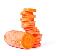 Free Carrot Slices Stock Photos - 19624593