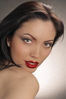 Free Alluring Lips Royalty Free Stock Photos - 19625828