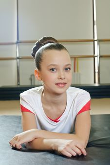 Free Portrait Of Gymnast Girl Royalty Free Stock Photography - 19625837