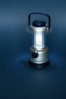 Camping Portable Lamp Stock Photo