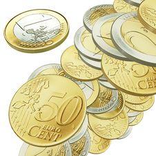 Free 3d Euro Money Stock Photography - 19626502