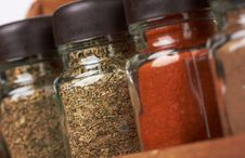 Free Set Of Spices Stock Photo - 19627270