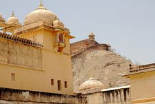 Free Amber Fort Royalty Free Stock Images - 19627589