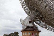 Free Radio Astronomy Dish Rotation Mechanism Stock Image - 19627621