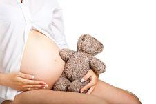 Pregnant Woman Royalty Free Stock Photos