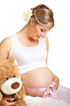Free Pregnant Woman Stock Photography - 19628142