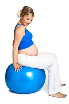 Free Pregnant Woman Stock Photo - 19628290