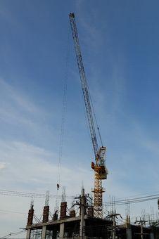 Free Construction Crane Stock Image - 19628931