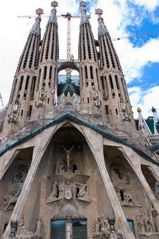 Free New Sagrada Familia Stock Photos - 19629103
