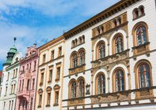 Free Facade Of Buildings In Czech Republic Royalty Free Stock Images - 19629359