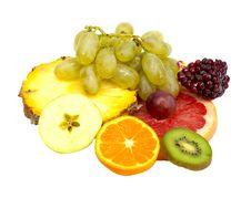 Free Ripe Tropical Fruits Stock Photos - 19629393