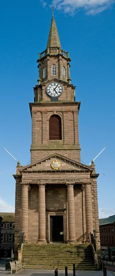 Berwick Old Town Hall Royalty Free Stock Photos