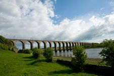 Free Landscape And Viaduct Stock Photography - 19629502