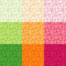 Free Seamless Floral Pattern Royalty Free Stock Image - 19629826