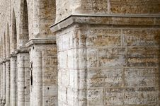 Free Pillars Of Old Building Stock Photo - 19630010