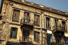 Free Old Building In Athens Stock Image - 19630121