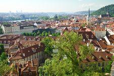 Free Prague View Royalty Free Stock Image - 19630486