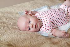 Free Lying Baby Stock Photos - 19630743