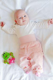 Free Little Baby-Girl Stock Photo - 19630790