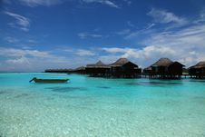 Free Maldives Seascape Royalty Free Stock Image - 19631096