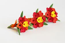 Free Artificial Flowers (three Bunches Of Tulips) Stock Photo - 19631450