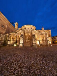 Monastery Of Fitero Stock Photography