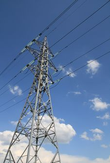 Free Electricity Tower Stock Photo - 19631590