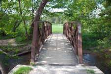 Free Cedarvale Bridge Stock Photo - 19631640